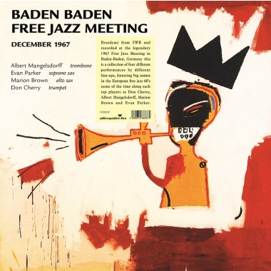 5060672883375 Baden Baden Free Jazz Meeting, December 1967 - SWR Broadcast