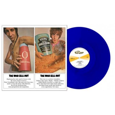 8013252990298 WHO SELL OUT (CLEAR BLUE VINYL)
