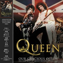 5060420347210 Our Gracious Queen (Red White  BlueSwirl Vinyl)