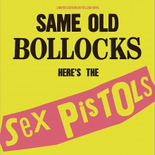 5060420347906 Same Old Bollocks - Here s The Sex Pistols (Yellow vinyl)