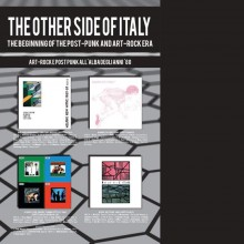 8056099000225 THE OTHER SIDE OF ITALY THE BEGINNING OF THE POST-PUNK  ART